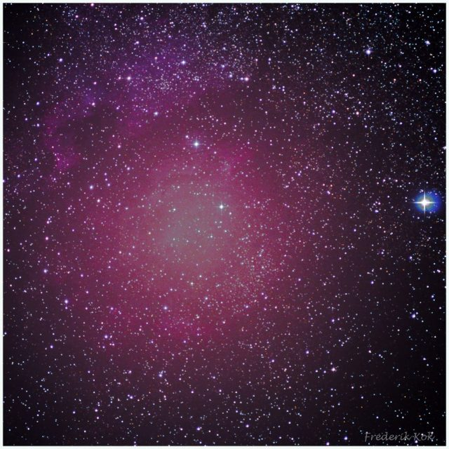 Nort America nebula (NGC 7000)