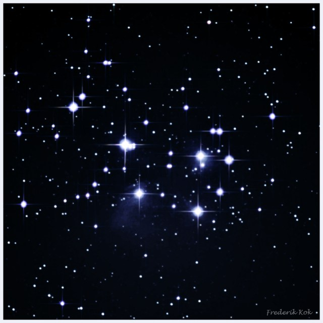 The Pleiades (M45 or seven sisters)