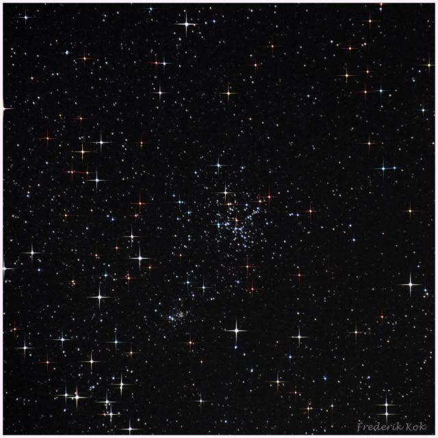 Pinwheel star cluster (M36)