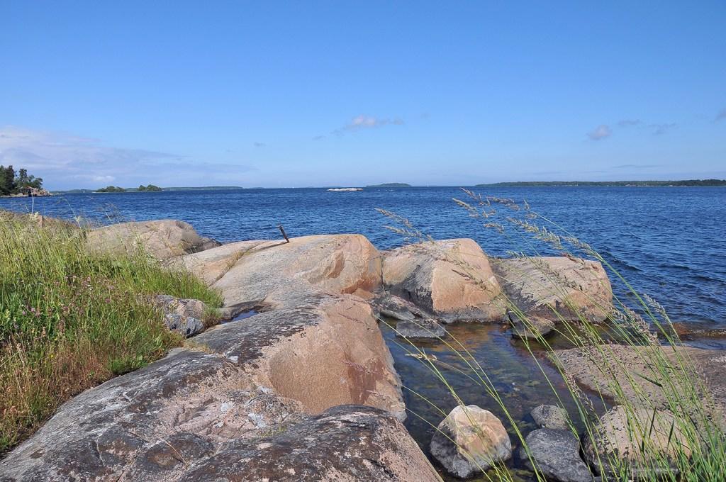 Swedish coast in the Stockholm archipelago