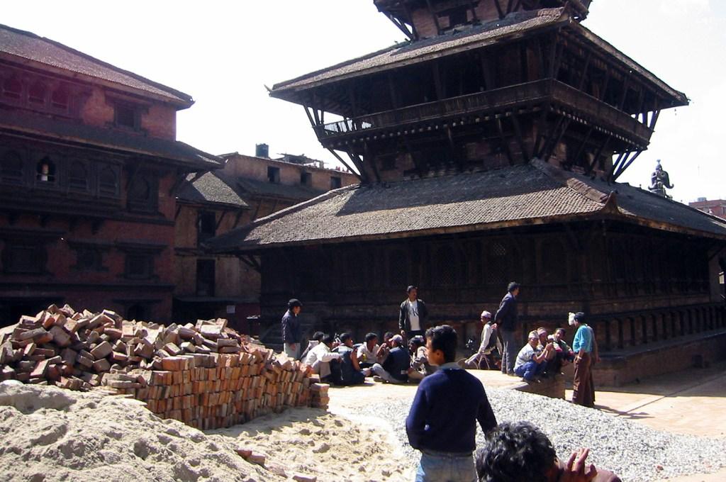 Repairing damaged temples