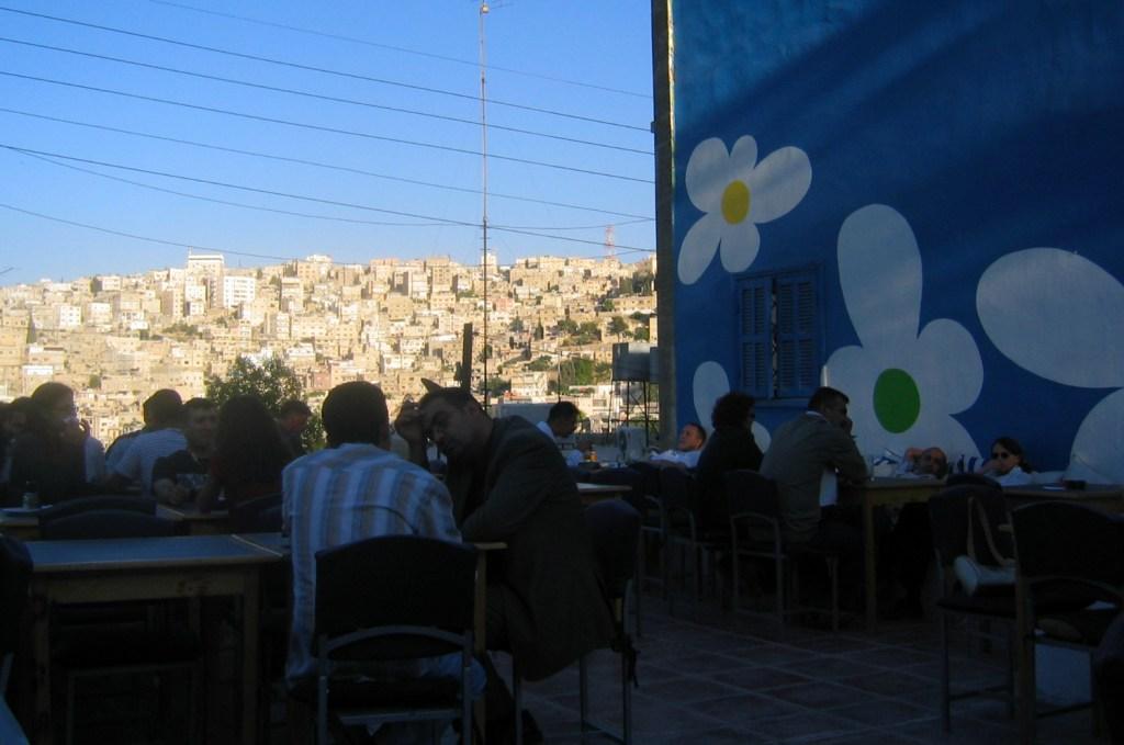 Cafe in Amman