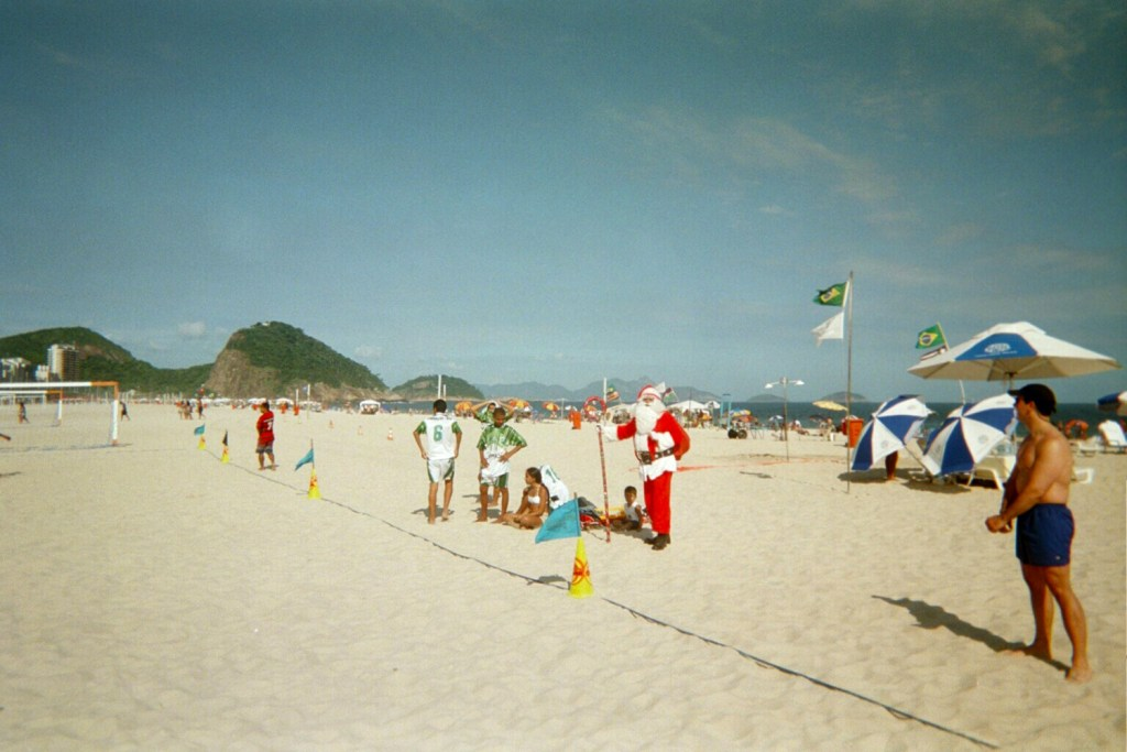 Copacabana christmas