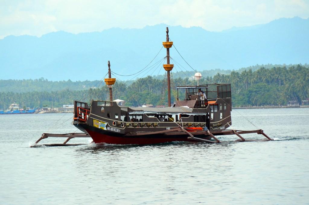Boat in Davao