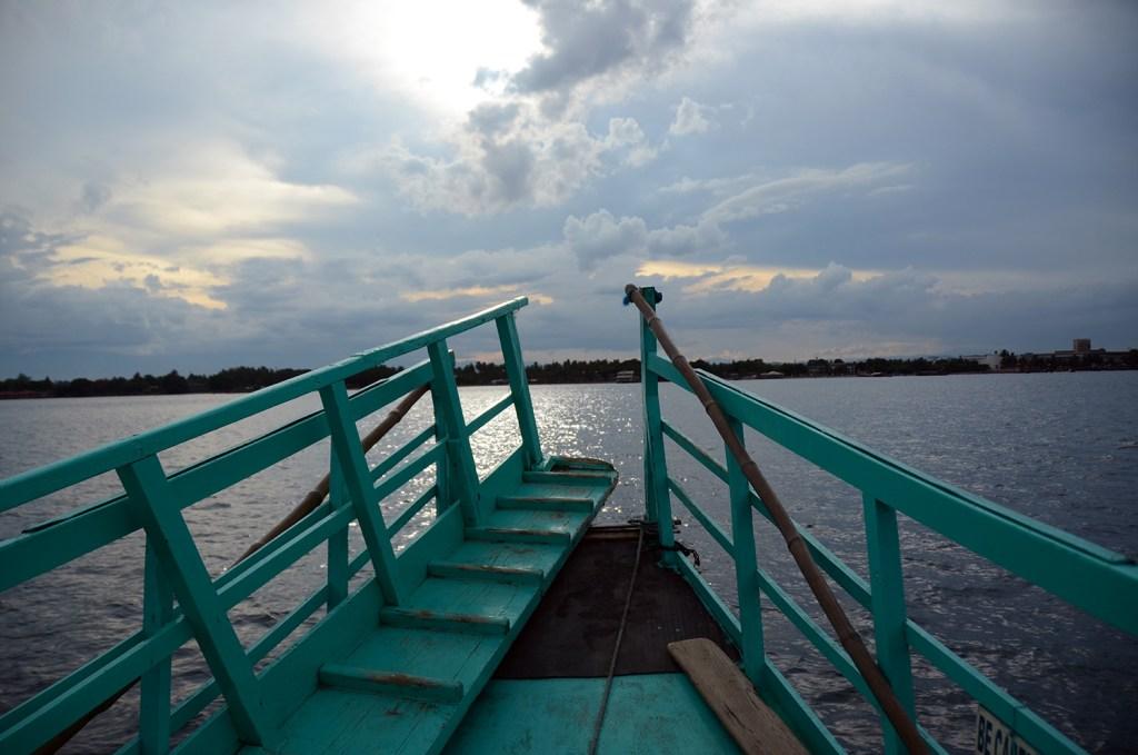 aboard a ship in Davao