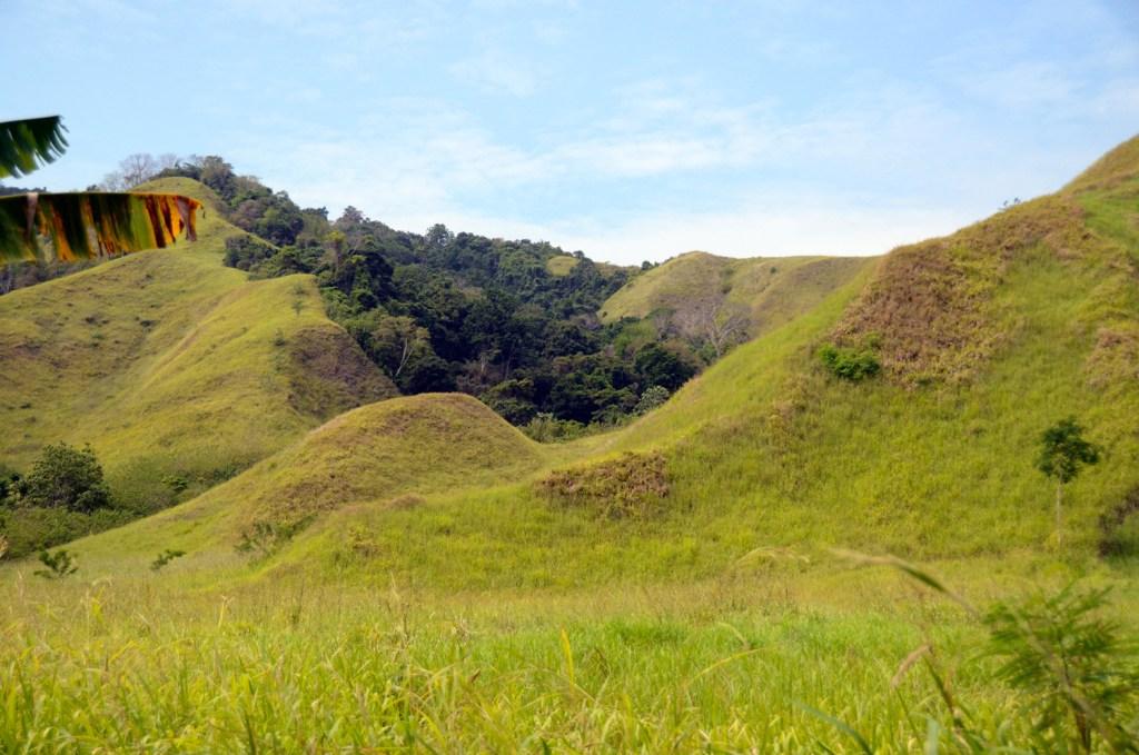 Hills in Papua New Guinea