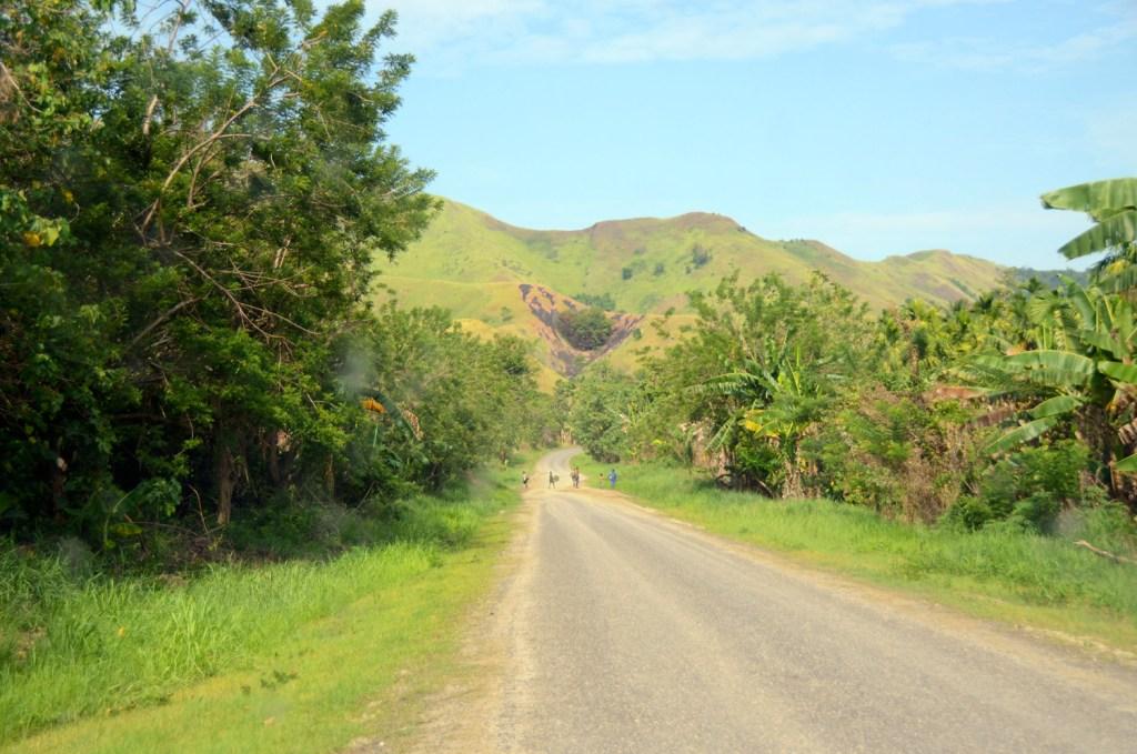 Road in Papua New Guinea