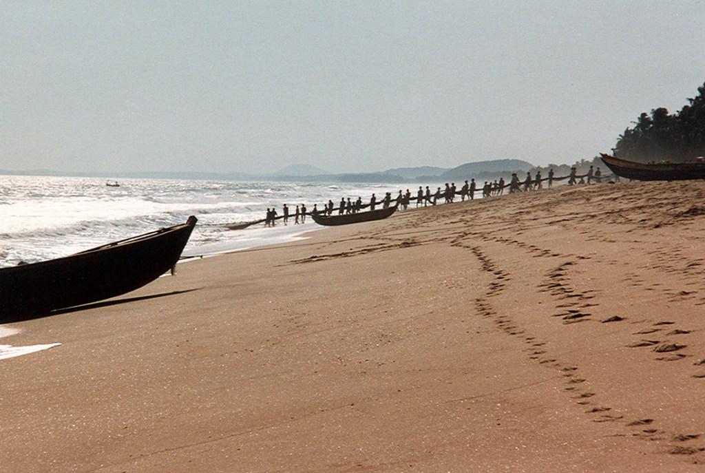 Gold coast in Ghana 1997