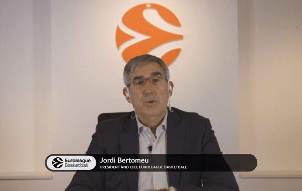EuroLeague President and CEO Jordi Bertomeu