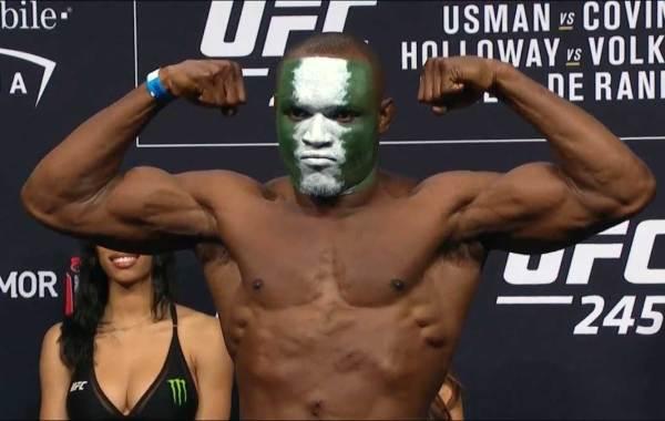 UFC fighter Kamaru Usman