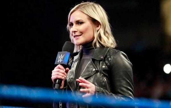 WWE Announcer Renee Young. Courtesy of WWE.com