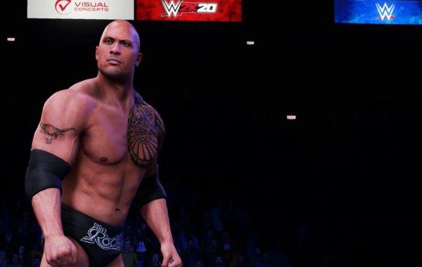 Dwayne The Rock Johnson in WWE 2K20