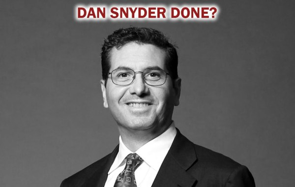 Is Daniel Snyder about to be banned by NFL?