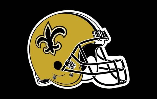 New Orleans Saints logo. Courtesy of Saints/NFL.