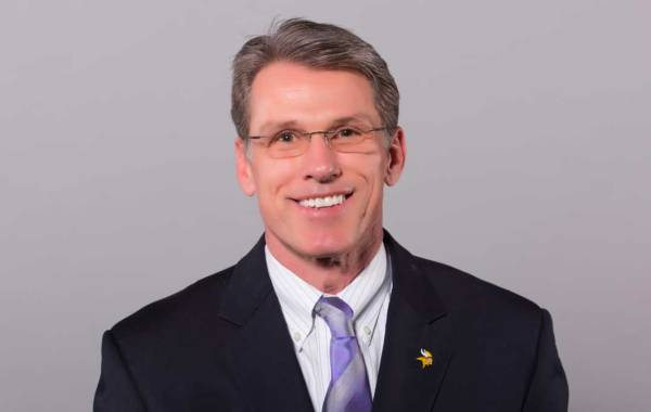Minnesota Vikings General Manager Rick Spielman. Courtesy of Vikings.