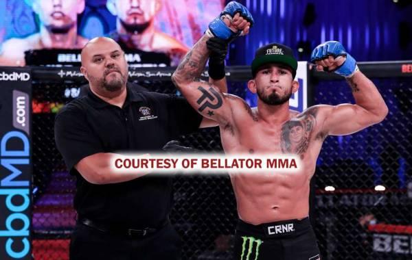 Bellator MMA fighter Sergio Pettis. Courtesy of Bellator.com.
