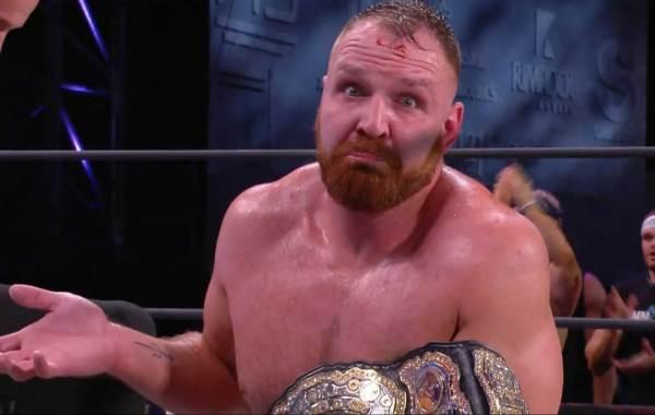 AEW World Champion Jon Moxley. Courtesy of All Elite Wrestling.