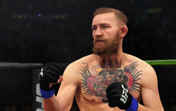 UFC fighter Conor McGregor in EA Sports UFC 2.