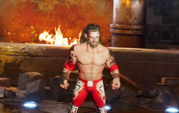 """Adam """"Edge"""" Copeland in WWE 2K Battlegrounds."""