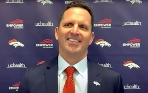 Denver Broncos General Manager George Paton, formerly Assistant GM of Minnesota Vikings. Courtesy of Broncos.