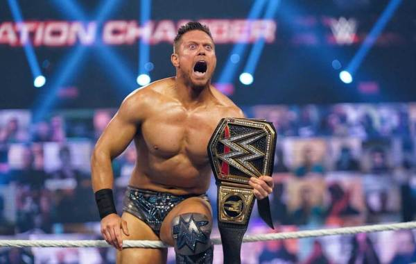 Two-time WWE Champion The Miz. Courtesy of WWE.com.