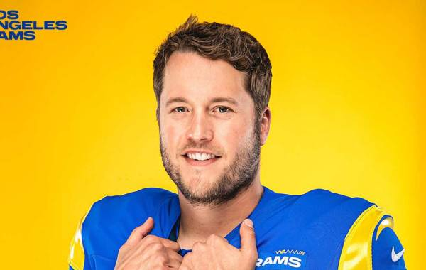 Los Angeles Rams quarterback Matthew Stafford. Courtesy of LA Rams.