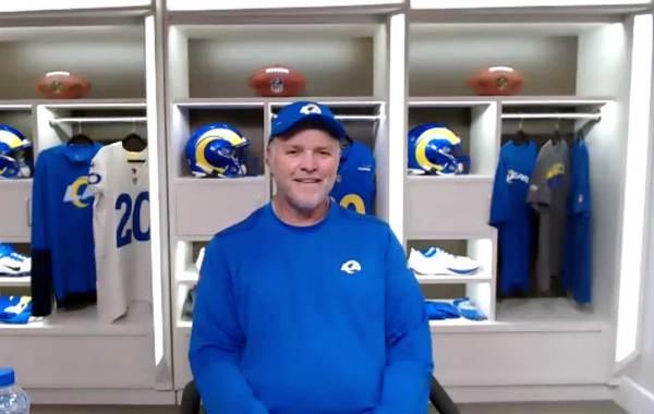Los Angeles Rams special teams coordinator Joe DeCamillis. Courtesy of LA Rams.
