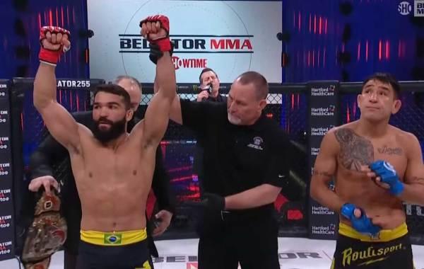 Bellator featherweight and lightweight champion Patricio Pitbull Freire. Courtesy of Bellator MMA / Showtime Sports.