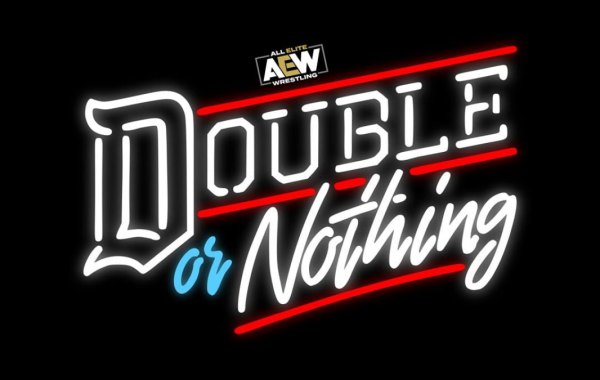 AEW Double or Nothing logo. Courtesy of All Elite Wrestling.