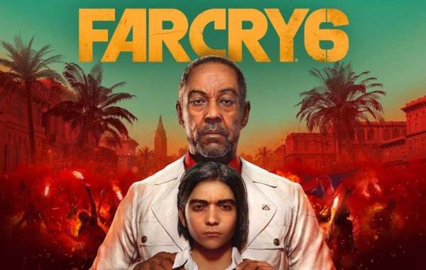 Far Cry 6 video game cover with actor Giancarlo Esposito. Courtesy of Ubisoft.