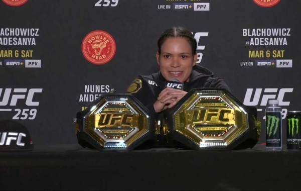 Amanda Nunes. Courtesy of UFC.com.