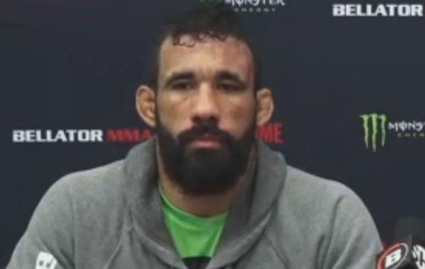 Bellator middleweight fighter Fabio Aguiar. Courtesy of Bellator MMA.