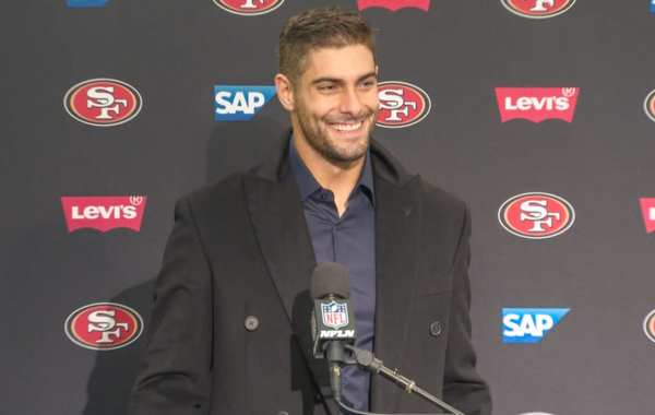 San Francisco 49ers quarterback Jimmy Garoppolo aka Jimmy G. Courtesy of 49ers.