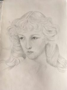 Silverpoint skiss
