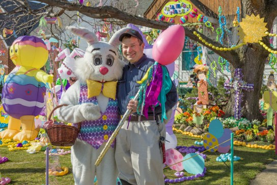 Peter Cottontail and Fred Scruton in 2016