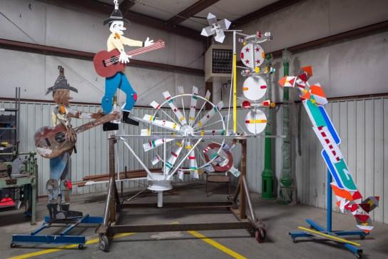Vollis Simpson Restoration Project; Wilson, NC 2017