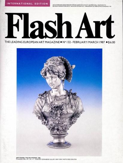 Jeff Koons, Flash Art; 1987