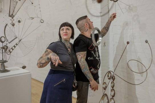 Bill Brady Exhibition Opening; Erie Art Museum 2018
