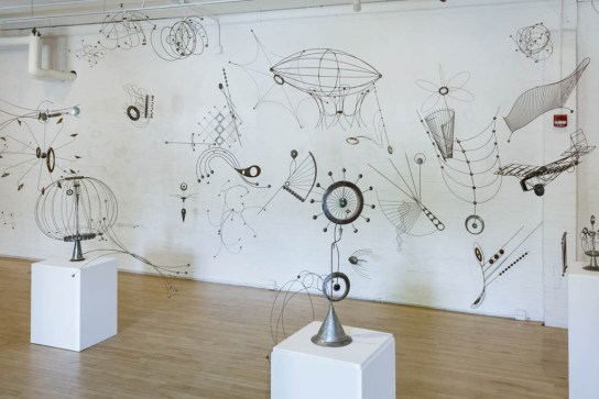 Bill Brady Retrospective Exhibition; Erie Art Museum 2018