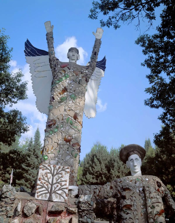 Fred Smith Angel; Wisconsin Concrete Park, Phillips, WI 2004