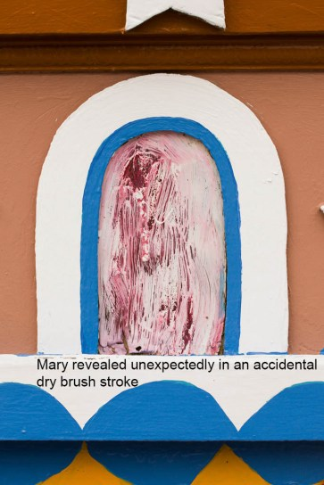 Isaiah Robertson; Brushstroke Revealing Mary, 2013
