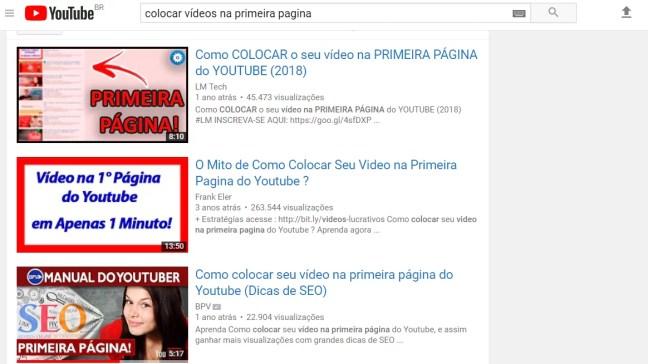 Como Colocar Vídeos na primeira página do YouTube