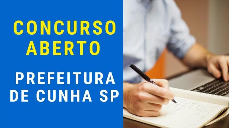 Concurso Prefeitura de Cunha SP