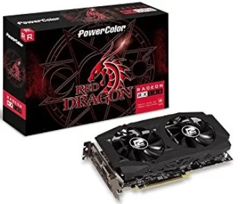 Placa de vídeo Amd Rx 580 8Gb Red Dragon Power Color