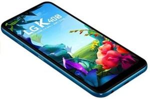LG k40s Melhor celular LG