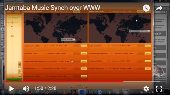 Synchronisez votre séquenceur sur internet avec un autre