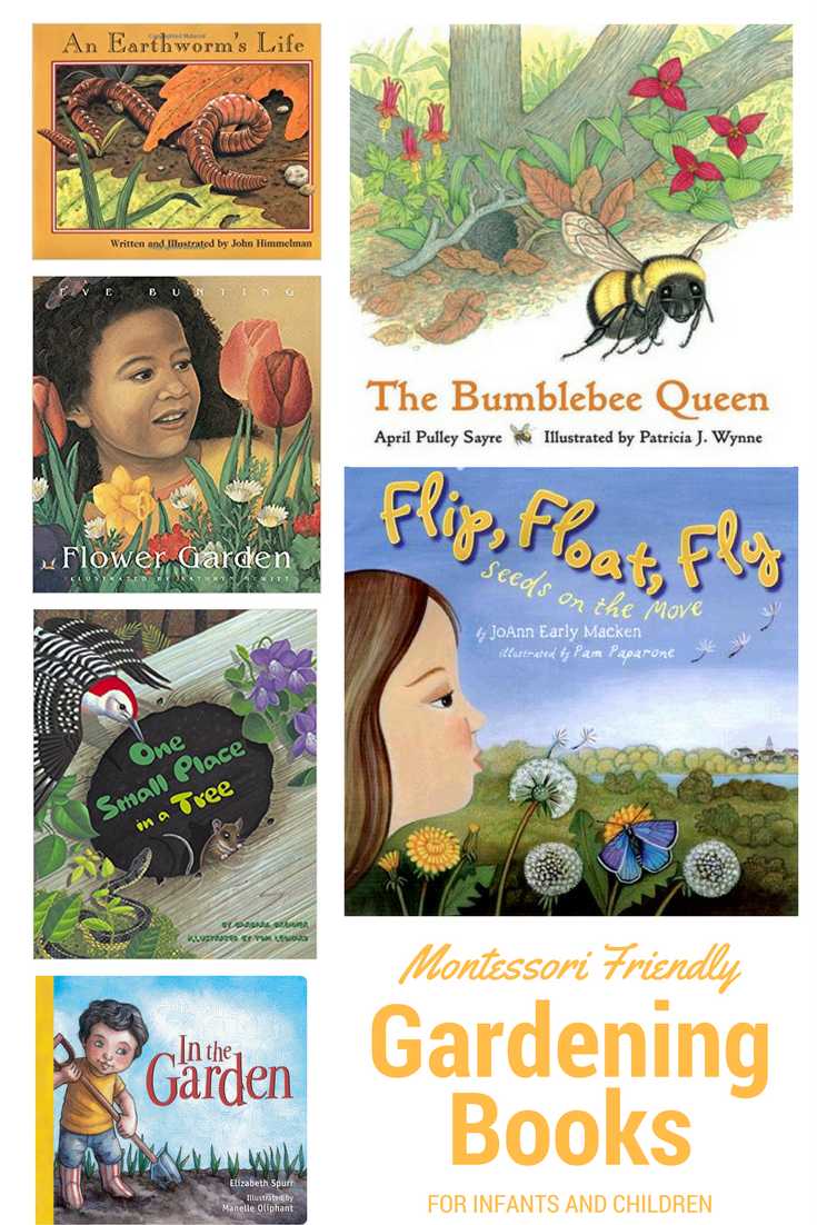 10 Children's Gardening Books for your Montessori home