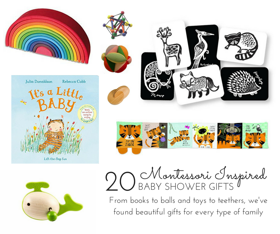Montessori Inspired Baby Shower Gifts - 20 best baby shower presents