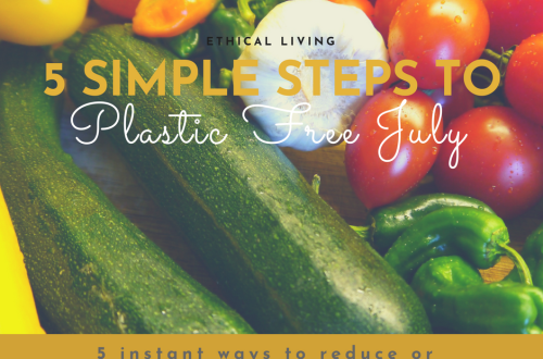 Reduce Plastic in the Kitchen