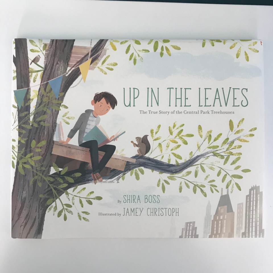 Up In The Leaves children's Book by Shira Boss